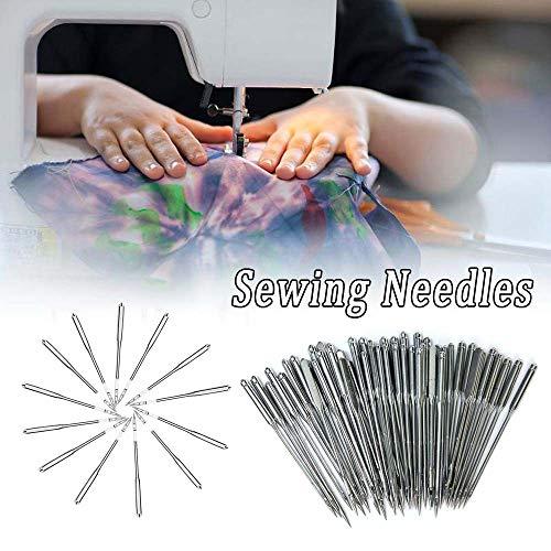 CHDHALTD 50Pcs Sewing Machine Needles, Universal Home Sewing Machine Needles Craft for Brother Janome Singer Tool
