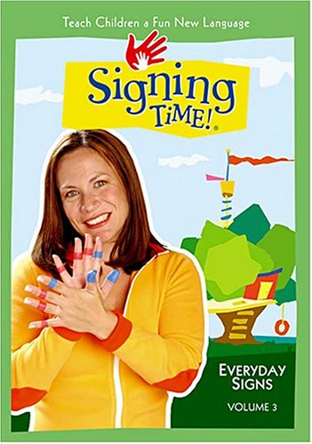 Signing Time! Volume 3: Everyday Signs -