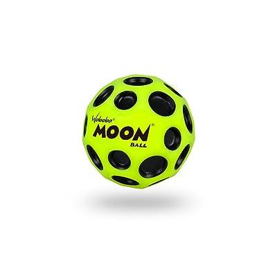 Waboba Moon Bounce Ball Neon Yellow Por Waboba: Juguetes y juegos
