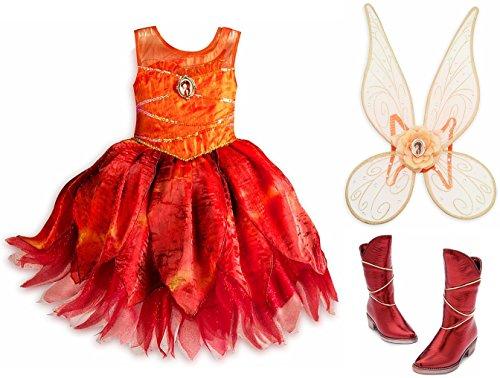Disney Store Fawn Animal Fairy Costume Set
