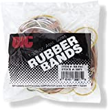Officemate OIC 1.375 Oz Rubber Bands, Assorted Colors (30071)