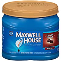 Maxwell House House Blend Ground Coffee Canister, 24.5 oz