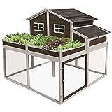 SummerHawk Garden Trio Coop and Herb Garden