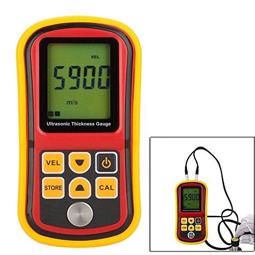 GM100 Ultrasonic Wall Thickness Gauge Meter Tester Steel PVC Digital Testing (Ultrasonic Thickness Meters)