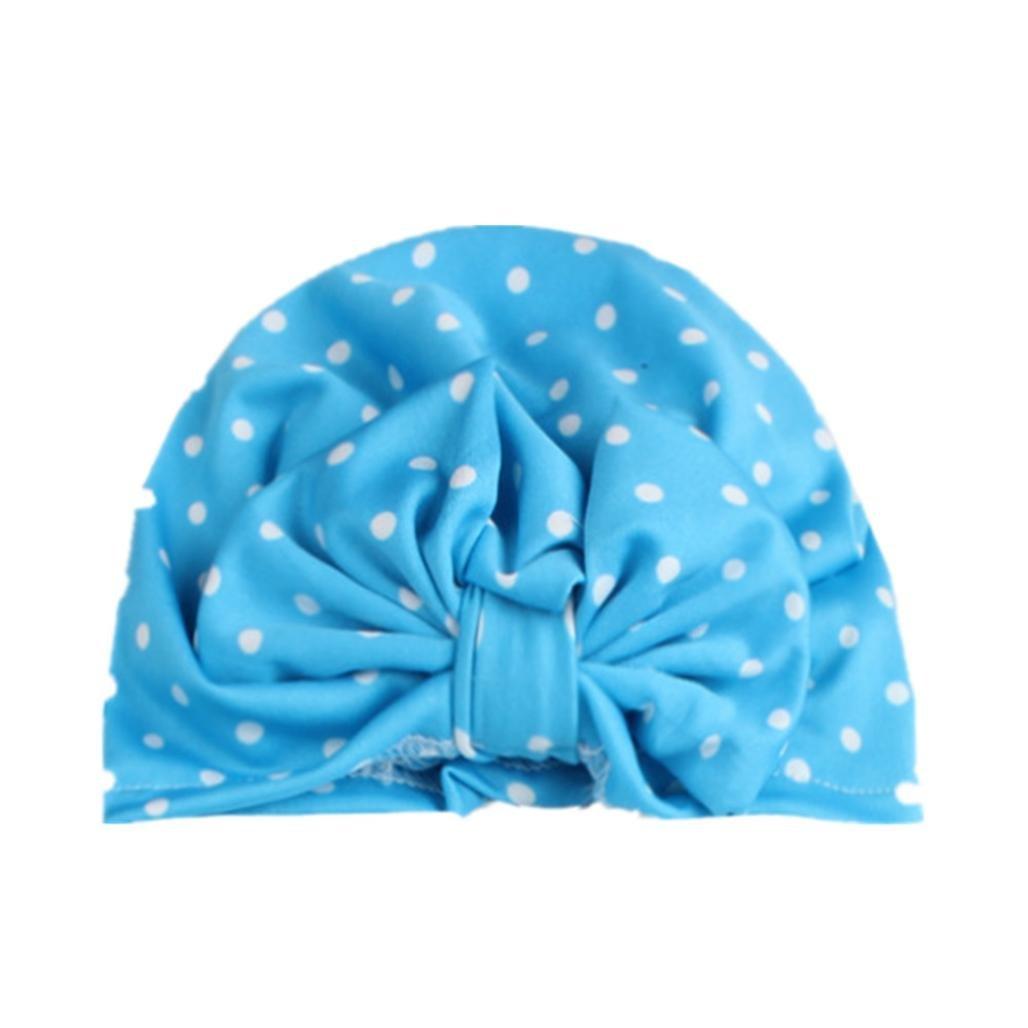DIGOOD Autumn Winter Baby Kont Dot Hat Girls Boys Stylish Cotton Hat