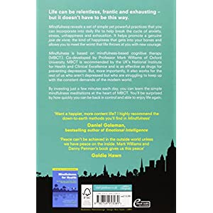 Mindfulness: A Practical Guide to Finding Peace in a Frantic World (Includes Free CD with Guided Meditations) Paperback – 5 May 2011