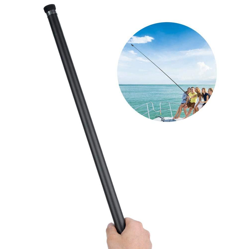 Wytino Selfie Stick Invisible para Insta360 One X 3 Metros Extendido Selfie Stick Invisible Estirable Fibra de Carbono