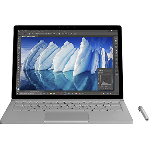 Microsoft Surface Book 13.5 Inch 2 in 1 Laptop (Intel Core i7 256GB 8GB RAM Windows 10) with Performance Base