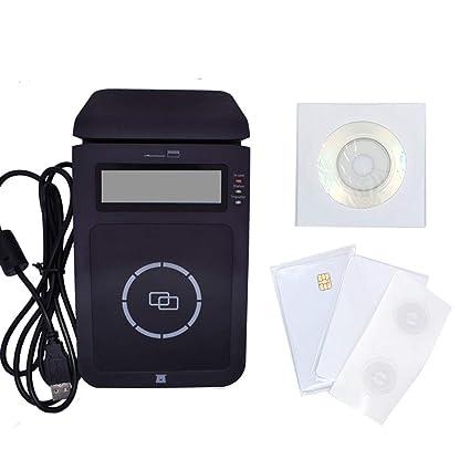 NFC RFID -Lector de contactos, lector inteligente y escritura USB ...