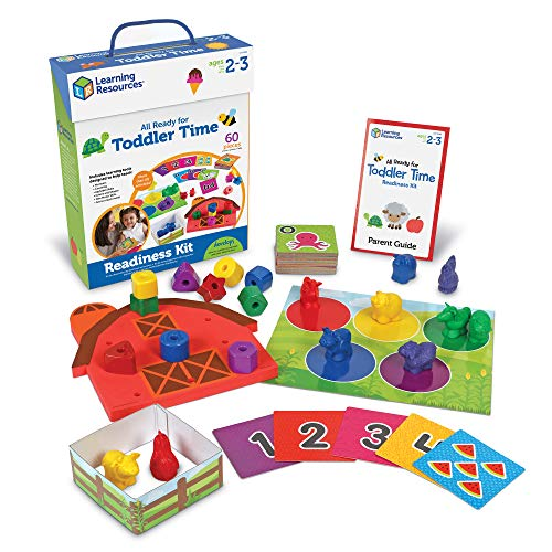 Learning Resources All Ready For Toddler Time Activity Set, 22 Pieces -