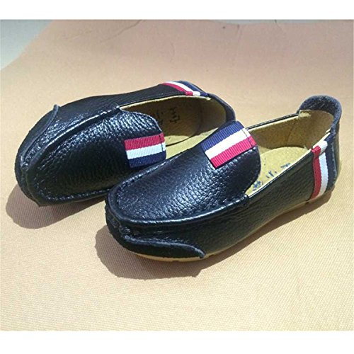 Toddler Girl Stripe Running Athletic Shoes Black Casual Loafers Sneakers on BININBOX Boys Sport Kid Slip Boat qRwgHW0