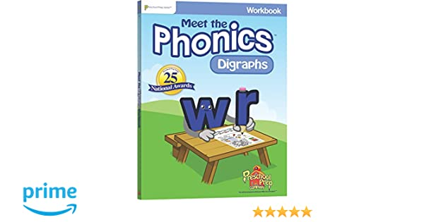 Workbook consonant trigraphs worksheets : Meet the Phonics - Digraphs Workbook: Kathy Oxley: 0184582000594 ...