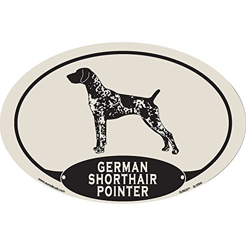 European Style German Shorthaired Pointer Car (German Shorthair Magnet)