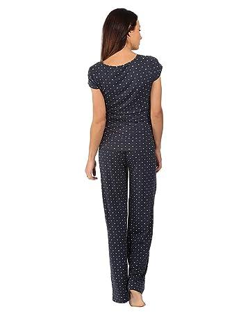 The Essential One- Pijama de lactancia premamá/Camisones para mujer EOM102: Amazon.es: Bebé