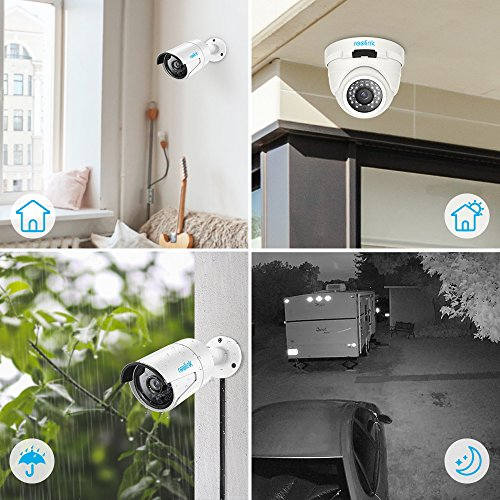 Reolink 16ch Video Surveillance System 5mp 4mp Nvr With