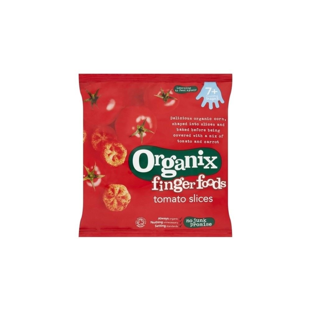 Organix Finger Foods Organic Tomato Slices 7mth+ (20g) Grocery