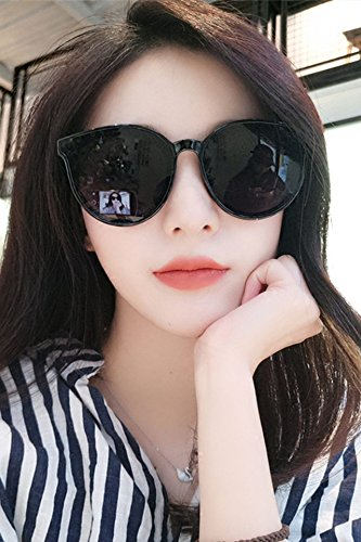 aba96aed2 Amazon.com: Sunglasses Women Girls Influx 2018 Korean Fashion Star Round  face Big Round Sunglasses Frame Sunglasses Men Man: Arts, Crafts & Sewing
