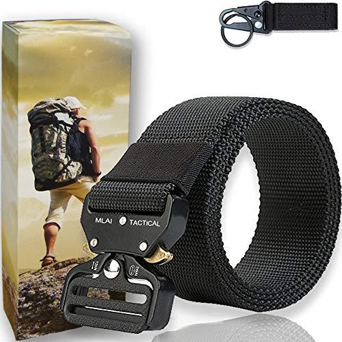 MLAI Tactical Belts for Men Nylon Belts for Men...