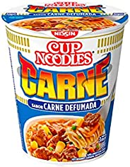 Cup Noodles Sabor Carne Defumada Nissin 69g
