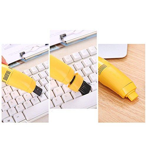 USB Vacuum Cleaner For Your Laptop Desktop (Green) - 6