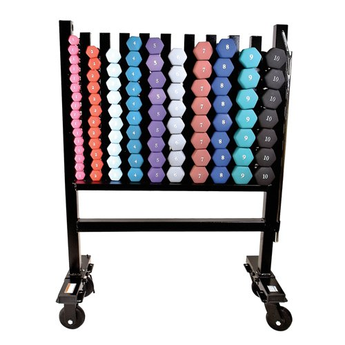 Barbell Neoprene Dumbbell Storage Rack
