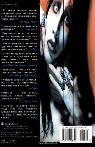 marilyn manson long hard road out of hell ebook