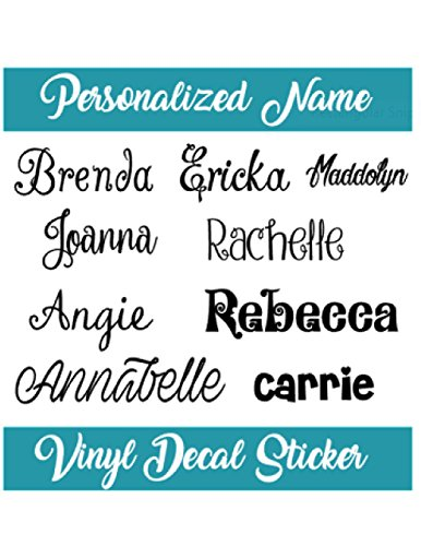 Personalized Name Decal Sticker I Tumbler Decal I Laptop Decal I Yeti Decal I Phone Decal I Water Bottle Decal