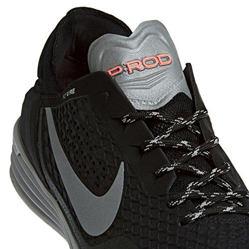 Nike Paul Rodriguez 8 Fibra sintética Zapatillas Negro - black/reflect silver/mdm