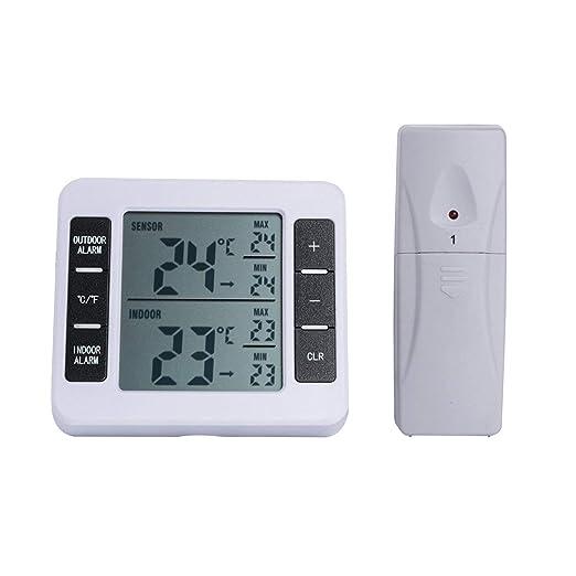 Compra Gugutogo Sensores Inalámbrico Congelador Digital Alarma ...
