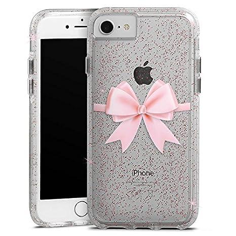 Apple Iphone 8 Bumper Custodia Bumper Case Custodia Con Brillantini