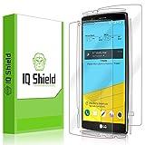 LG G4 Screen Protector, IQ Shield LiQuidSkin Full Body Skin + Full Coverage Screen Protector for LG G4 HD Clear Anti-Bubble Film - with
