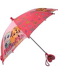 Girls' Little Paw Patrol Character Rainwear Umbrella, Pink, Age 3-6