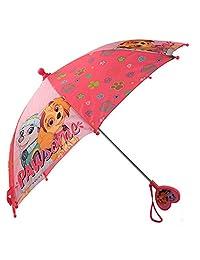 Nickelodeon Little Paw Patrol - Paraguas para niña, diseño de la Patrulla Canina, color rosa, 3-7 años