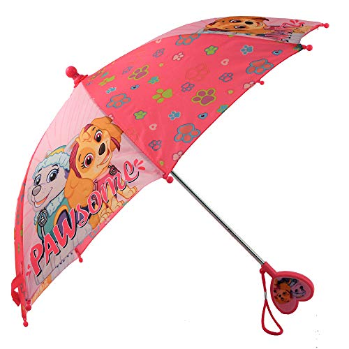 Nickelodeon Girls' Little Paw Patrol Character Rainwear Umbrella, Pink, Age 3-6