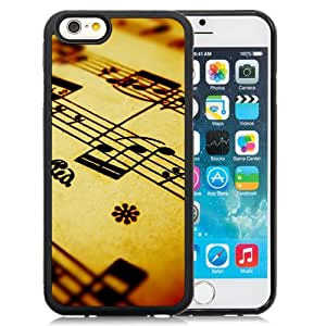 Compose Music Note Background Silicone TPU iPhone 6 4.7 Inch Protective Phone Case
