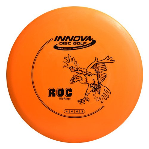 Innova - Champion Discs DX Roc Golf Disc, 145-150gm (Colors may - Roc Disc Mid Range Golf