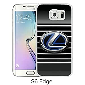 Durable and Fashionable Case Design with Lexus logo Samsung Galaxy S6 Edge White Phone Case hjbrhga1544