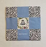 Catnip Blanket Cat Toy Cat Mat Prefilled and Refillable 16 x 16 inches Refillable Organic Catnip Cat Birthday Cat Lover Gift