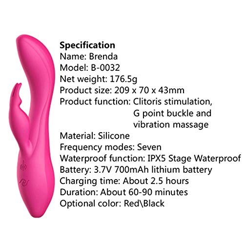 Rabbit G spot Vibrator 7 Frequency Dildo Vibrator Massage Erotic Clitoris Vagina Stimulation Sex Toys for Women Silicone-in Vibrators from Beauty & Health on Aliexpress.com | Alibaba Group by Clareta Sex Shop (Image #6)