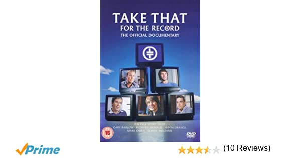 Amazon.com: Take That: For the Record - The Official Documentary: Robbie Williams, Gary Barlow, Howard Donald, Jason Orange, Mark Owen: Movies & TV