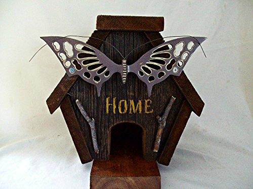 Rustic Birdhouse, Barn Wood House, Decorative BirdHouse, Farmhouse Decor
