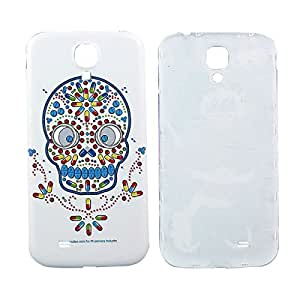 Skulls Art Anaglyph Phone Back Cover For Samsung Galaxy S4 i9500