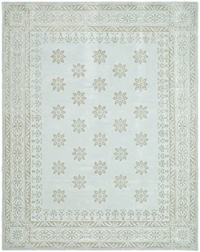 Martha Stewart Safavieh Collection MSR4538A Handmade Premium Wool Winter s Day Area Rug 4 x 6