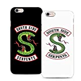 Riverdale Jughead Southside Serpents Phone Case Cover for iPhone 4 5 6 7 8 X S SE Plus C Samsung Galaxy (Black,iPhone 6S)