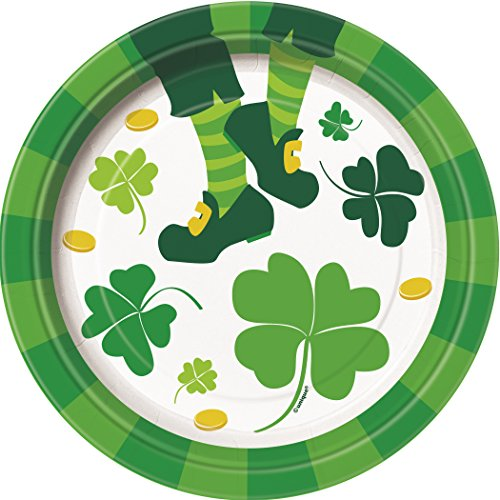 Saint Patrick's Day Jig Dessert Plates, 8ct