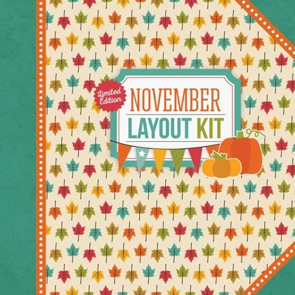 November Layout Kit by Creative Memories
