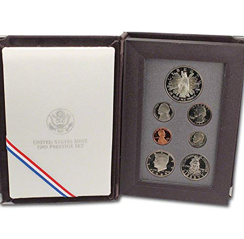 (1989 US Mint Prestige Proof Set Original Government Packaging)