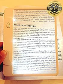Ultra Slim & Lightweight Book Light Led page Magnifier