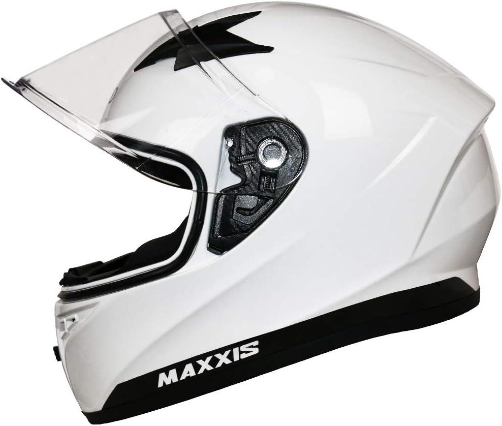 XS-XXL Motorradhelm Damen und Herren ECE Genehmigt Leopard LEO-813 Integralhelm