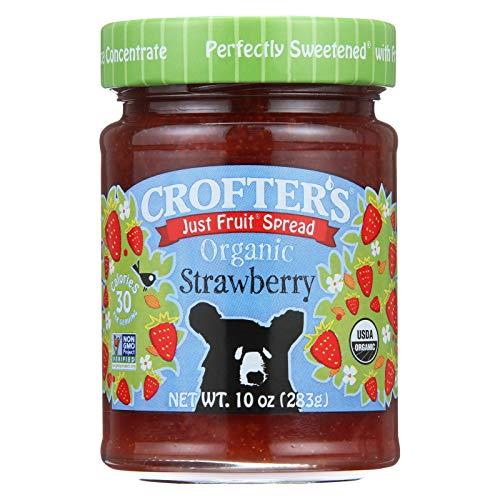 (Crofters Organic Strawberry Fruit Spread, 10 Ounce - 6 per case.)